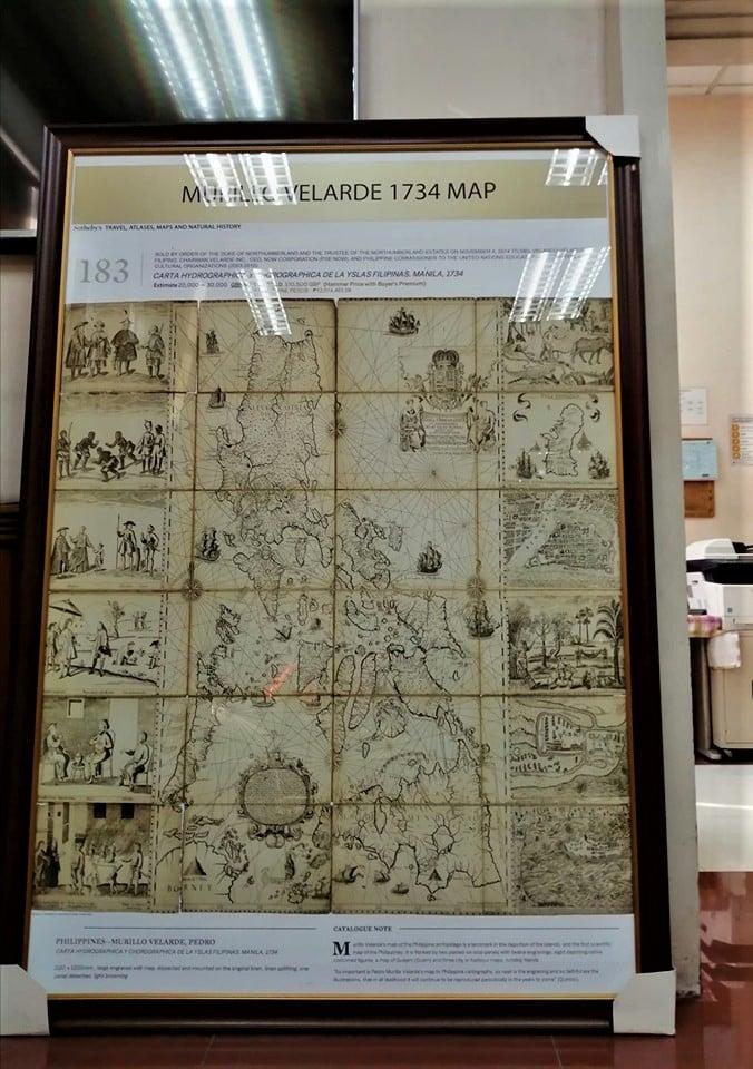 Velarde-Bagay-Suarez map