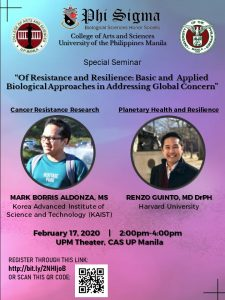 Seminar on Cancer Resistance and Planetary Health and Resilience