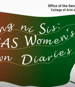Sharing ni Sis: CAS Women's Lockdown Diaries