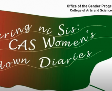 Sharing ni Sis: CAS Women's Lockdown Diaries